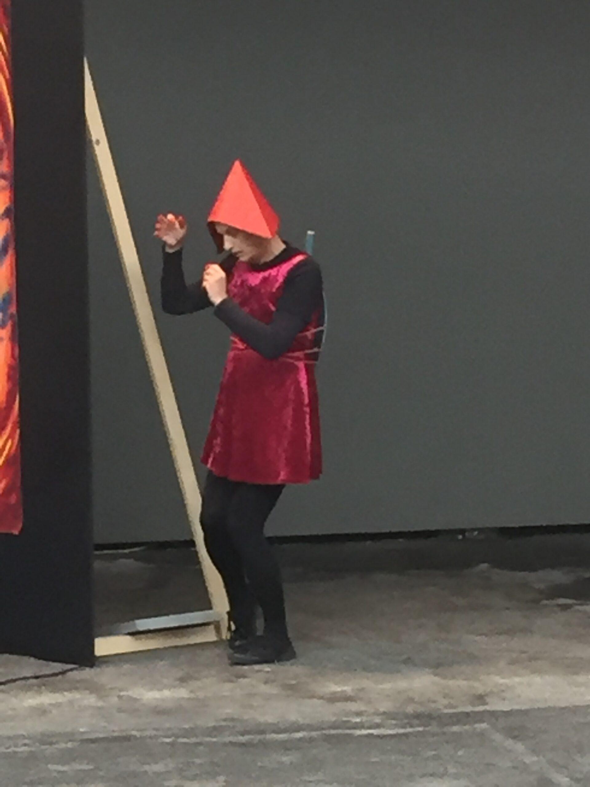 Werkschau Thurgau | Kunsthalle Arbon | Performance René Schmalz, Gesang Gabriella Gombas