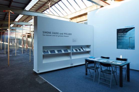 Simone Zaugg und Pfelder, Ausstellungsansicht Kunsthalle Arbon 2018